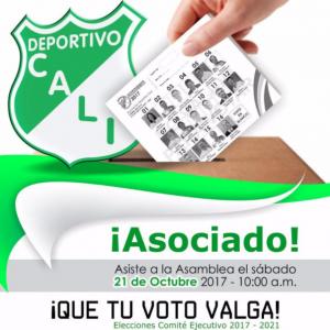 Elecciones Deportivo Cali