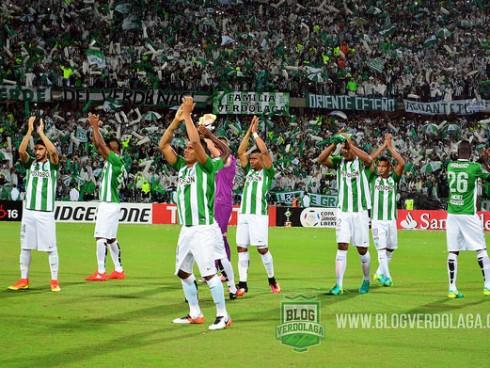 Atlético Nacional saluda a su hinchada