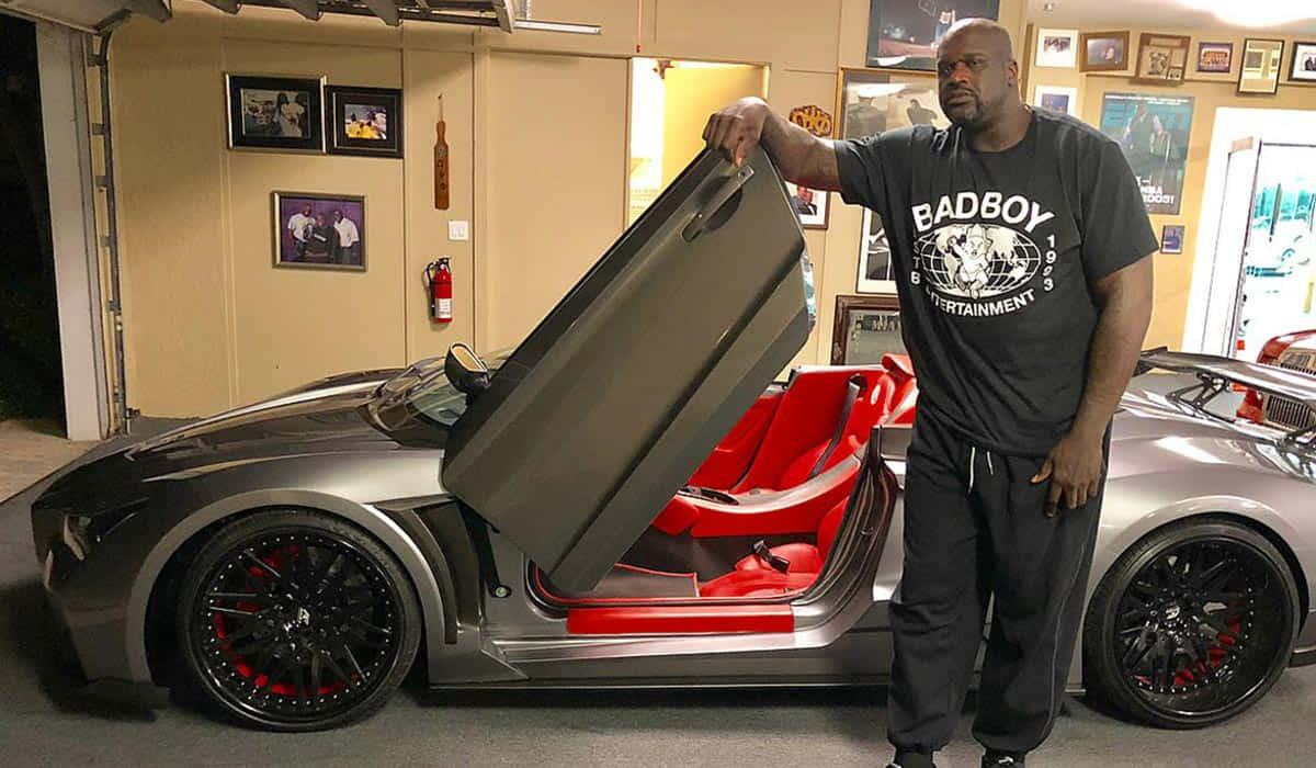 auto de shaquille oneall